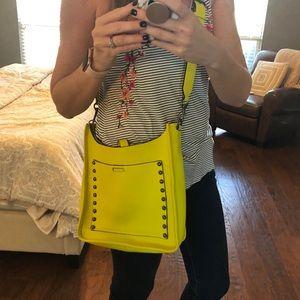 Rebecca Minkoff Crossbody Lime Yellow Neon